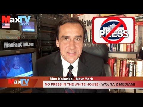 Trump's War with Scum Media – Wojna Trumpa z mediami – Max Kolonko Mówię Jak Jest MaxTV