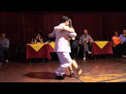 Natasha Lewinger- Eric Lindgren Wonder tango al Club Majestic 1/5/15