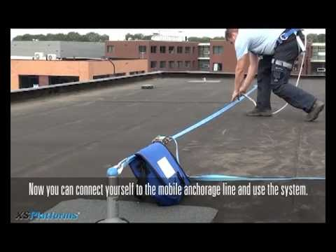 Mobile Anchor Points Fall Protection Youtube