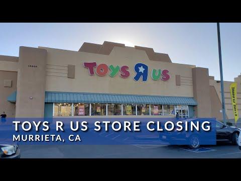 Toys R Us Store Closing Murrieta, CA 4K