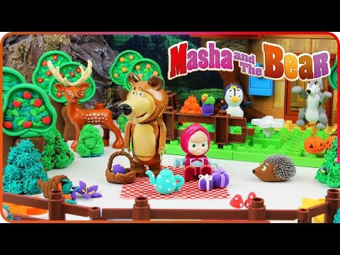 ♥ Masha and the Bear Compilation New Episodes 2016 (Garden of Stolen Carrots, Dangerous Juice...)