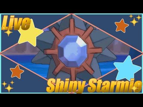 Live Shiny 5% Starmie - Chain Fishing - Pokemon X/Y