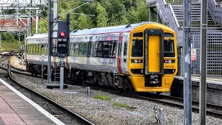 Trains at Manchester Airport   13/08/2019