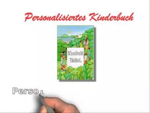 Personalisierte Kinderbibel Zur Taufe Und Erstkommunion Kinderbibel Taufbibel Mit Namen