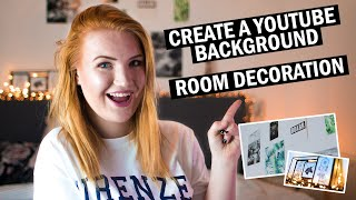 Create A YouTube Background with Room Decoration YouTube