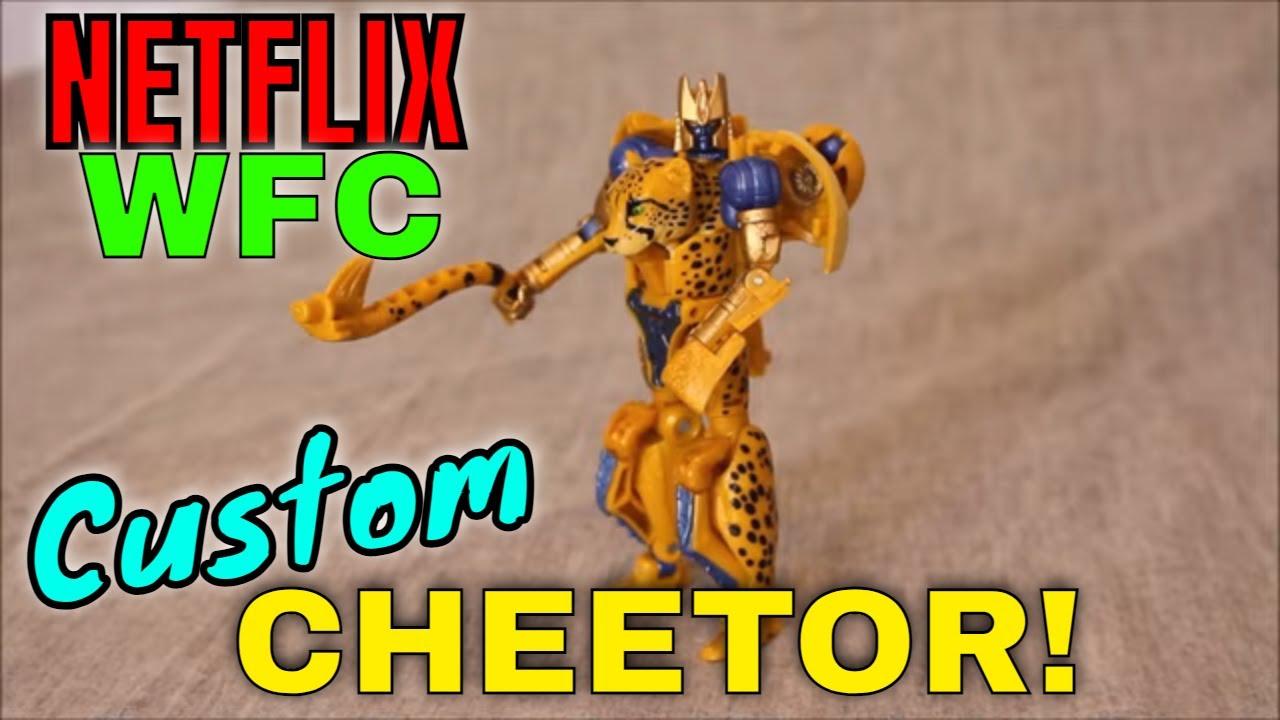 Custom Cheetor...Take 2: Netflix WFC Cheetor by GotBot