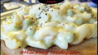 Miss Ruby Tuesday-  Quick & Easy Tuna Noodle Casserole