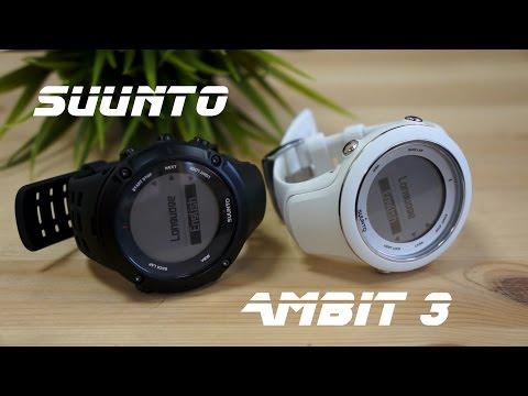 Suunto Ambit3 - обзор на спортивные часы с Bluetooth Smart