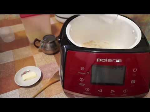 Домашние видео рецепты - пшеничная каша на молоке в мультиварке