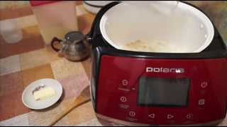 Домашние видео рецепты - пшеничная каша на молоке в мультиварке(ИНГРЕДИЕНТЫ 350 мл молока, 150 мл воды, 4 столовые ложки пшеничной крупы, соль, сахар по вкусу, сливочное масло...., 2015-11-26T10:53:49.000Z)