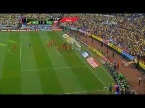 America vs Toluca 2-0 Apertura 2013 Semifinal VUELTA 8/12/13