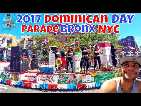 2017 Dominican Day Parade | The Bronx | Grand Concourse