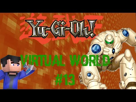 Yu-Gi-Oh! Virtual World: Episode 13: Mega Gets Deleted! (Minecraft Roleplay)