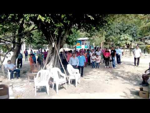 Fiesta patronal de Cañada de Colotla Pantepec Puebla con la participación de la banda de viento  ÁGU