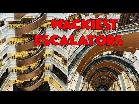 [Top 10] Wackiest & Weird Escalators