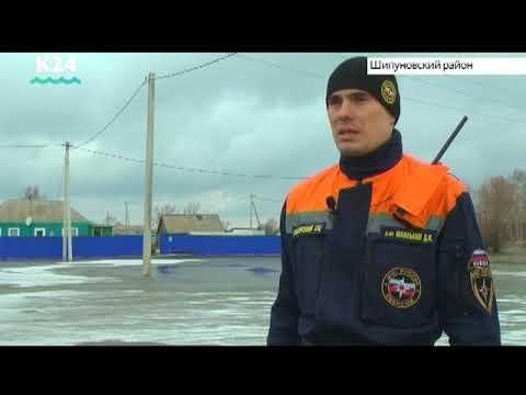 Паводок в селах Шипуново и Алтайское