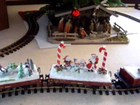 weihnachtszug unterm weihnachtsbaum 2 youtube. Black Bedroom Furniture Sets. Home Design Ideas