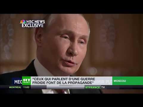 Vladimir Poutine : «Ceux qui parlent de nouvelle guerre froide ne sont pas des analystes»
