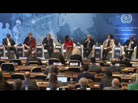 A Global Dialogue on Future of Work: Decent Jobs for All