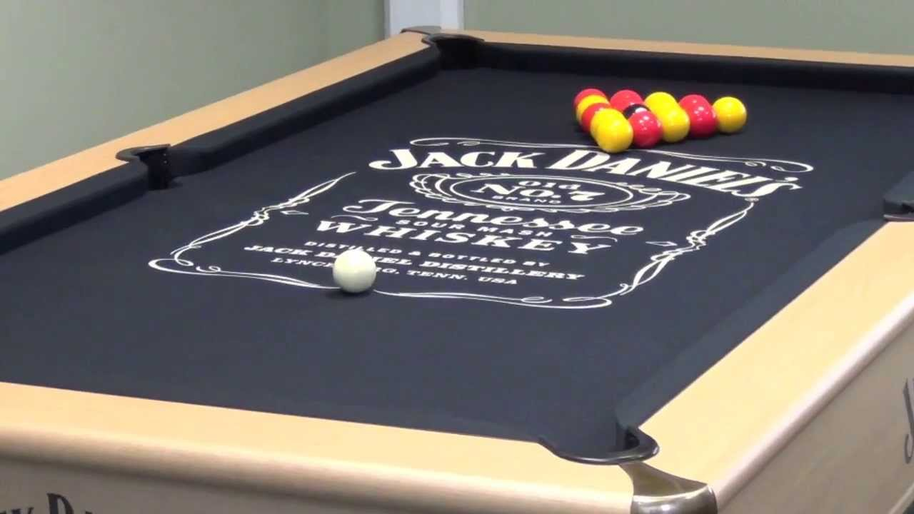 Winchester Jack Daniels Pool Table YouTube - Jack daniels pool table