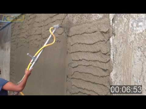 How to plaster fast and economically with KAPPA plastering machines and KAPPA SYSTEM