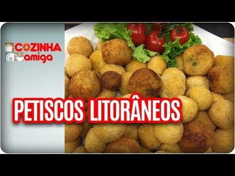 Petiscos Litorâneos - Patricia Gonçalves | Cozinha Amiga (17/01/18)