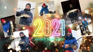 Рыбалка в канун Нового Года Зимний спиннинг на Москве реке