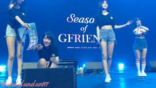 Gfriend's first encore performance during sog in manila