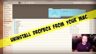 Uninstall Dropbox On A Mac & Free Up Hard Drive Space