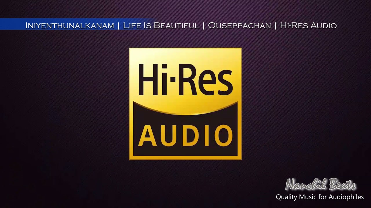 Download Iniyenthunalkanam   Life Is Beautiful   Ouseppachan   K.J.Yesudas & Sujatha   Hi-Res Audio