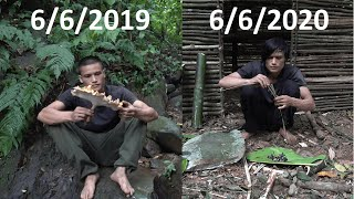 First Year of Survival in the Tropical Rainforest with Nolan [Full HD]