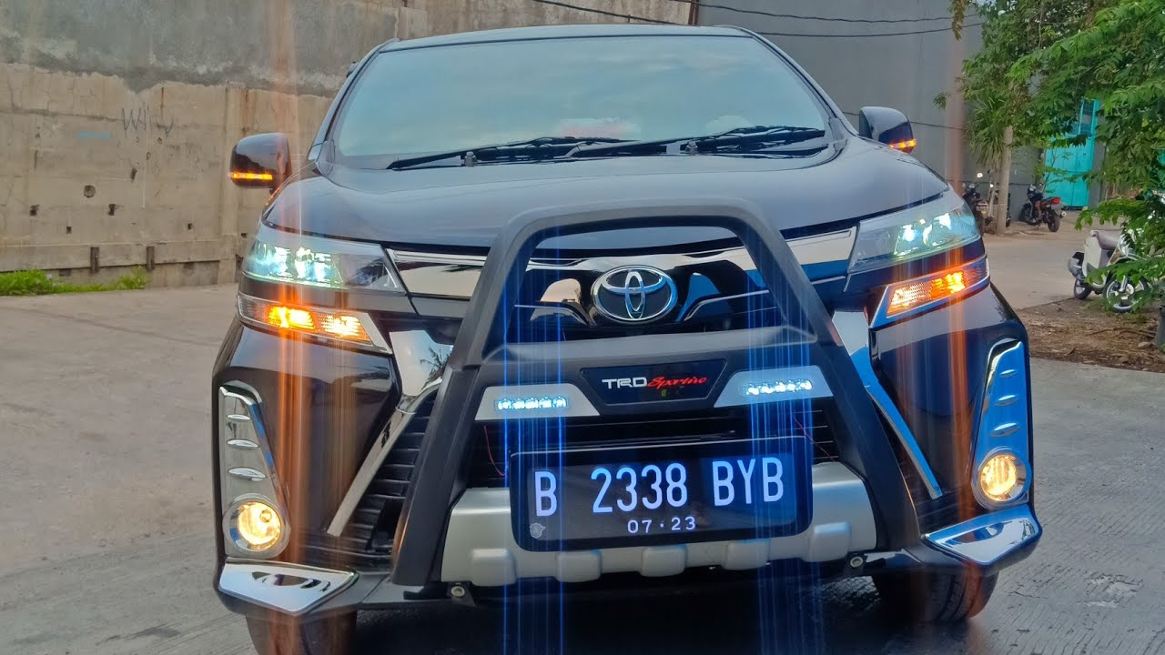 Modif Mobil Avanza Type E T.A.2018 Upgrade Ke Avanza Sport 2020