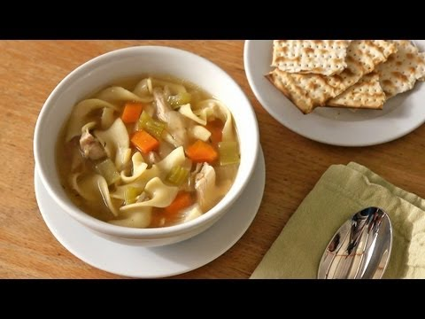 Easiest Chicken Soup From Leftover Chicken - The Easiest Way