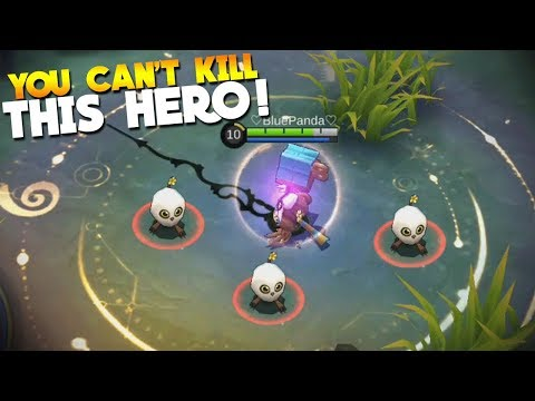NEW HERO DIGGER GAMEPLAY! Unkillable Hero! Mobile Legends