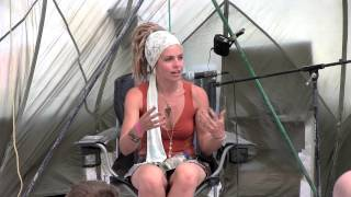 "Amanda Sage ""Vision Mapping for the Golden Age"" - Burning Man 2012"