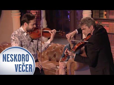 Peter Marcin a Dalibor Karvay - Hra na husle - Neskoro Večer