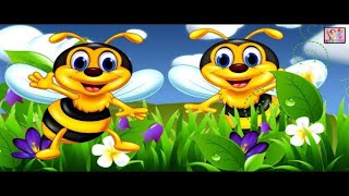 My Little Bee - Amazing Nursery Rhyme With Lyrics    Latest Nursery Rhymes 2020   