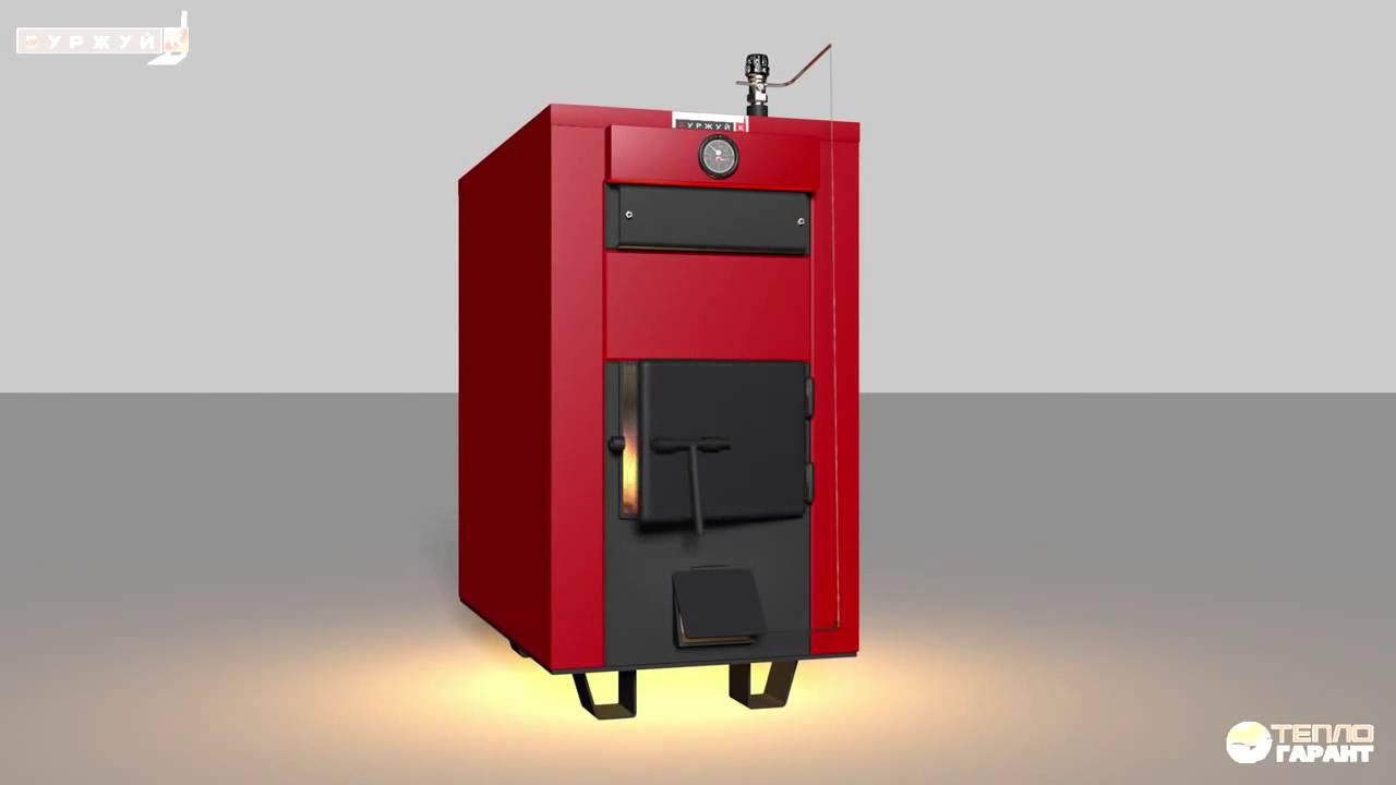 Производство пиролизных котлов длительного горения - YouTube