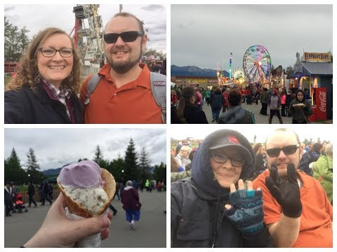 Visiting the Alaska State Fair 2017