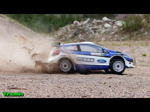 Kyosho DRX VE Sand RC Rally Action