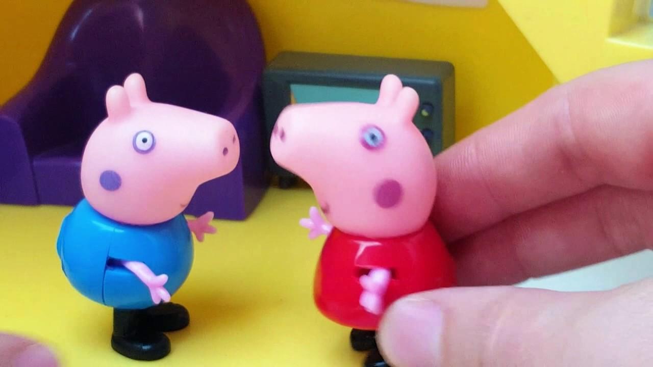 Свинка Пеппа и ее друзья. Видео с игрушками. Все серии ...