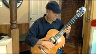 "Greensleeves"" Classical Guitar"""