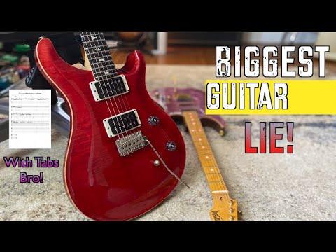 This Huge Guitar Practice Lie Has Gone On Too Long!
