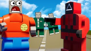 We Played LEGO SQUID GAME to Stop the Train in Brick Rigs?!