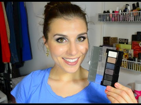 Simple, Easy, & Cheap: NYX Smokey Eye Palette Tutorial | Bailey B.