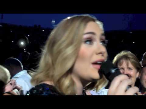 ADELE - Hello - entrance (Live@Arena di Verona Italy)