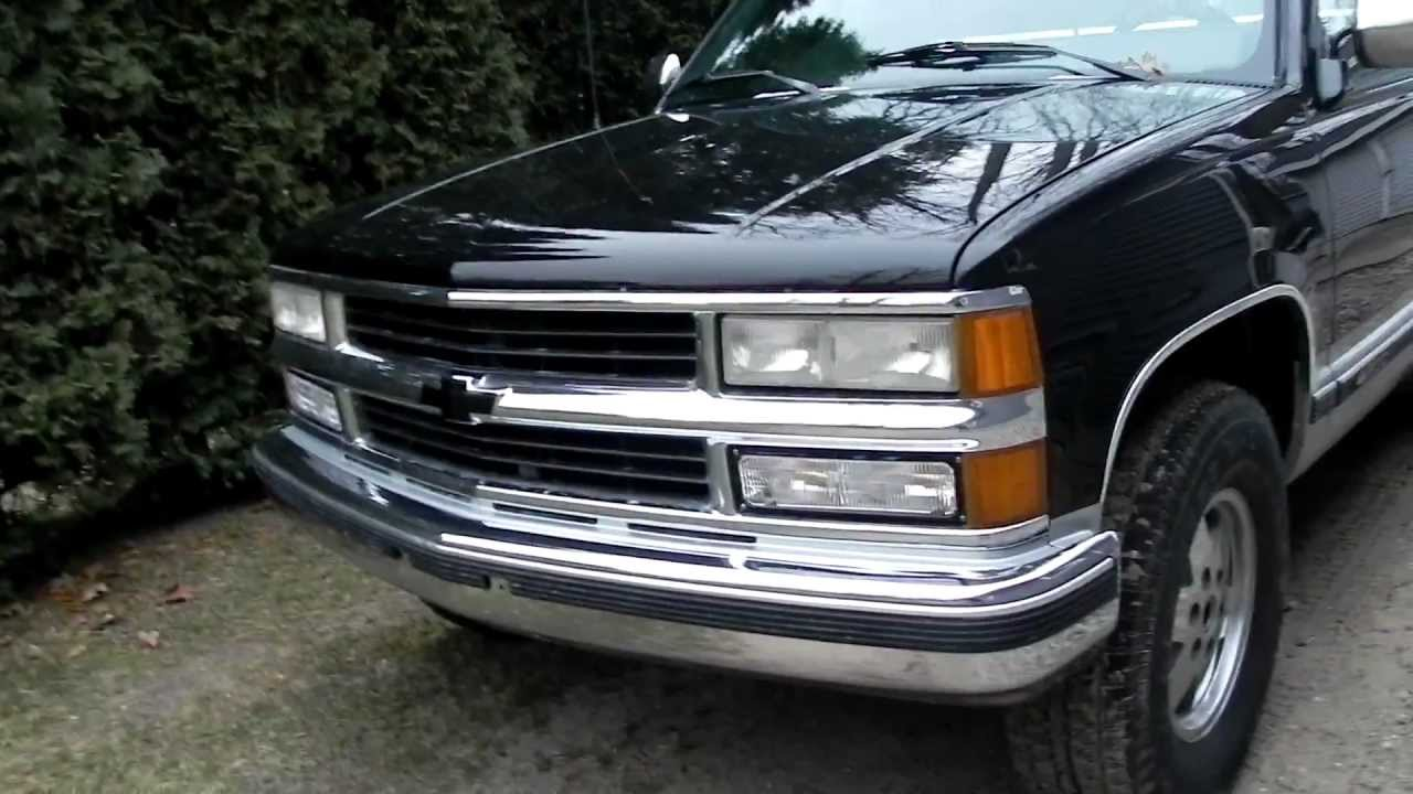 90 Chevy Silverado 1500 4x4 - YouTube