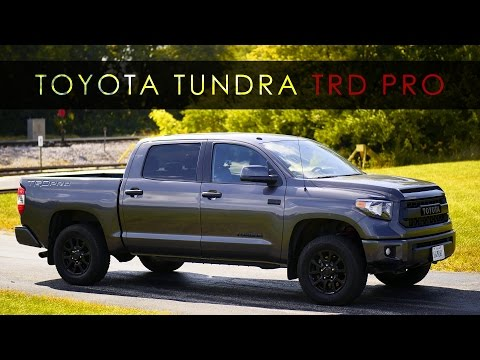 Quick Review | 2017 Toyota Tundra TRD Pro
