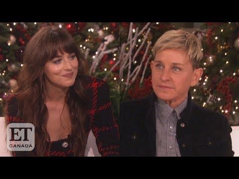 Dakota Johnson Calls Out Ellen For Missing Birthday Youtube