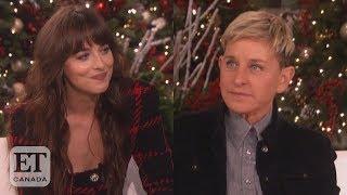 Dakota Johnson Calls Out Ellen For Missing Birthday